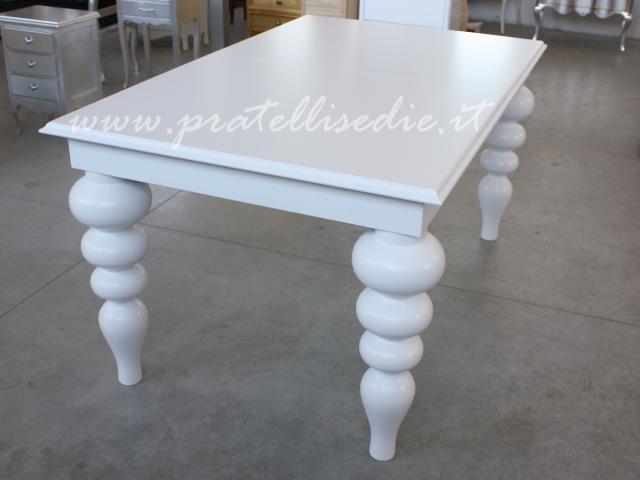 Tavolo Barocco Moderno Gambe Tornite  Pratelli Mobili