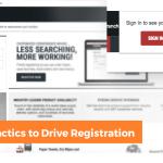 Grainger's Tactics to Drive Registration
