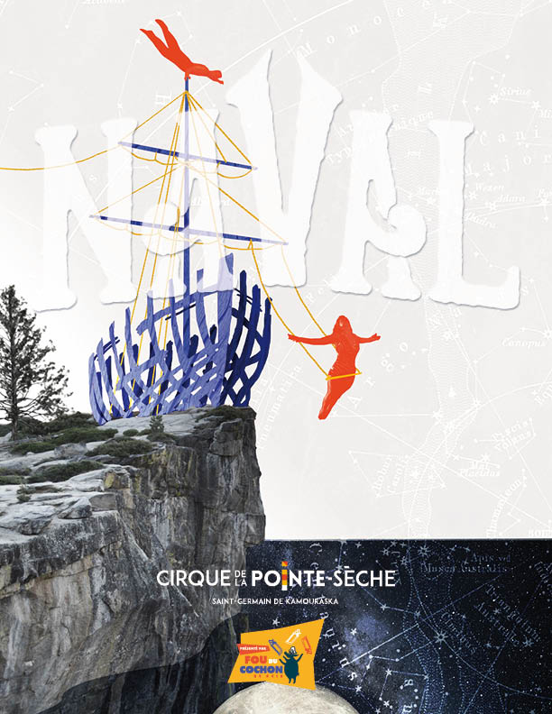 Page couverture du programme souvenir du spectacle Naval