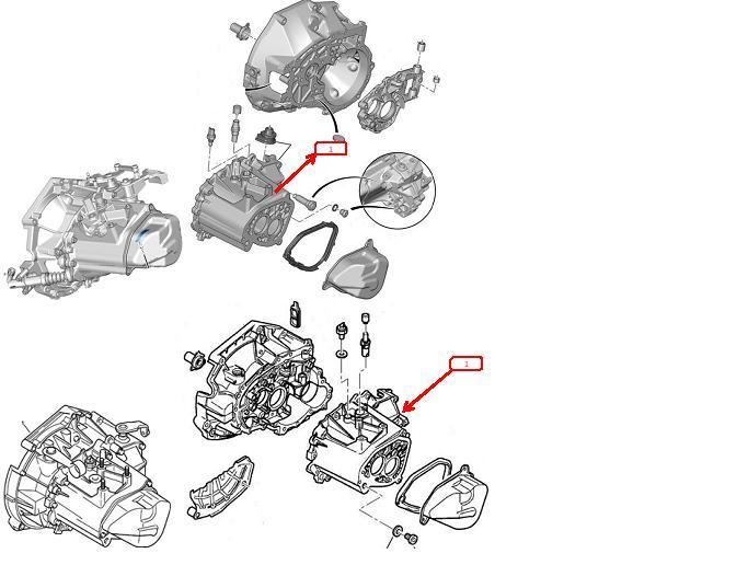 Peugeot 205 5th gear swap (8.2% improvement at constant 50