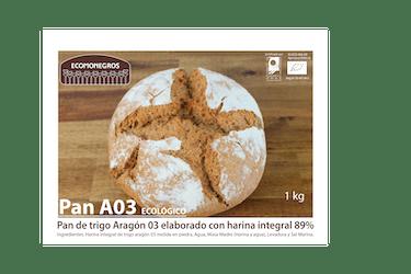 Pan de trigo Aragón 03 hogaza