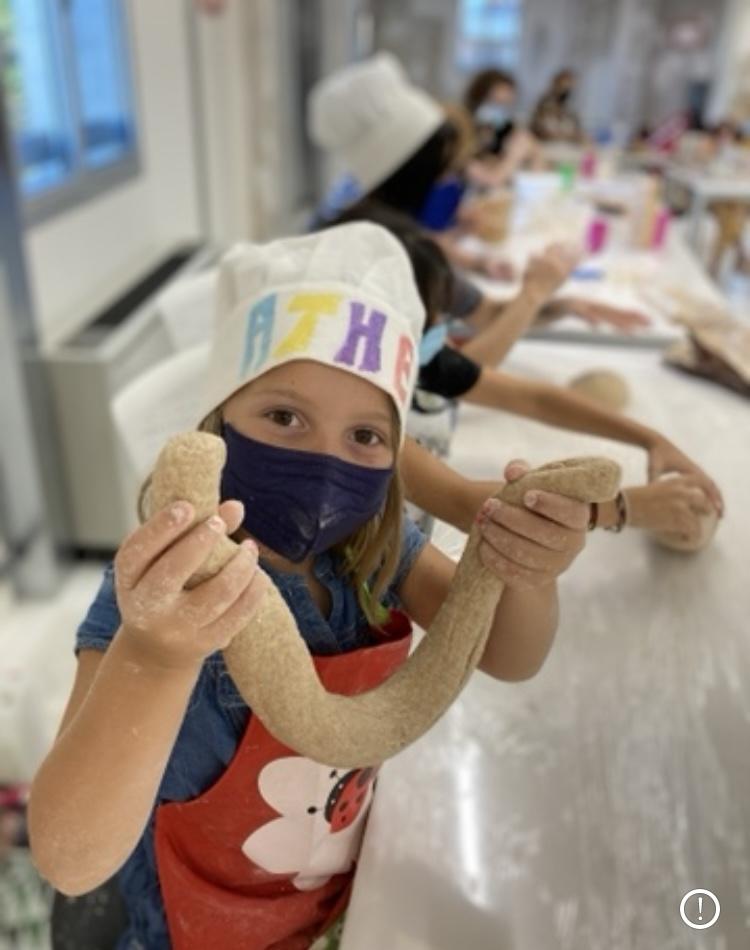 Taller de pan para niñ@s
