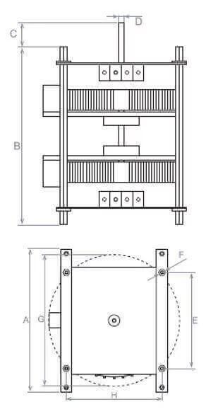 Voltage Variator Double Manual Adjustment 5000-12000va