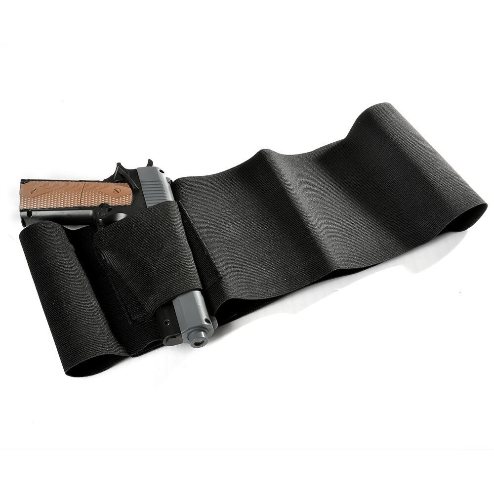 37-Adjustable-Tactical-Elastic-Belly-Band-Waist-Gun-Holster-2-Magazine-Pouches-Concealed-Carry-Universal-Pistol (1)