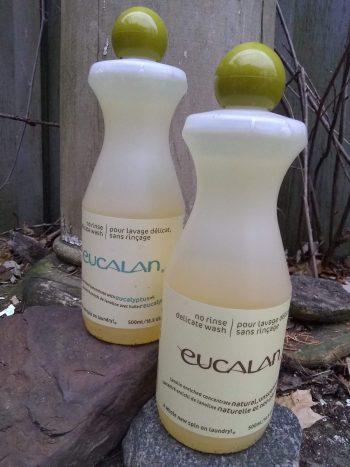 Two Bottles Eucalan Wool Wash