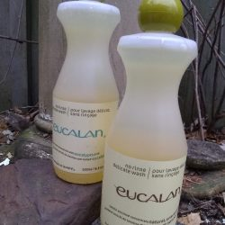 Two Bottles Eucalan Wool Wash