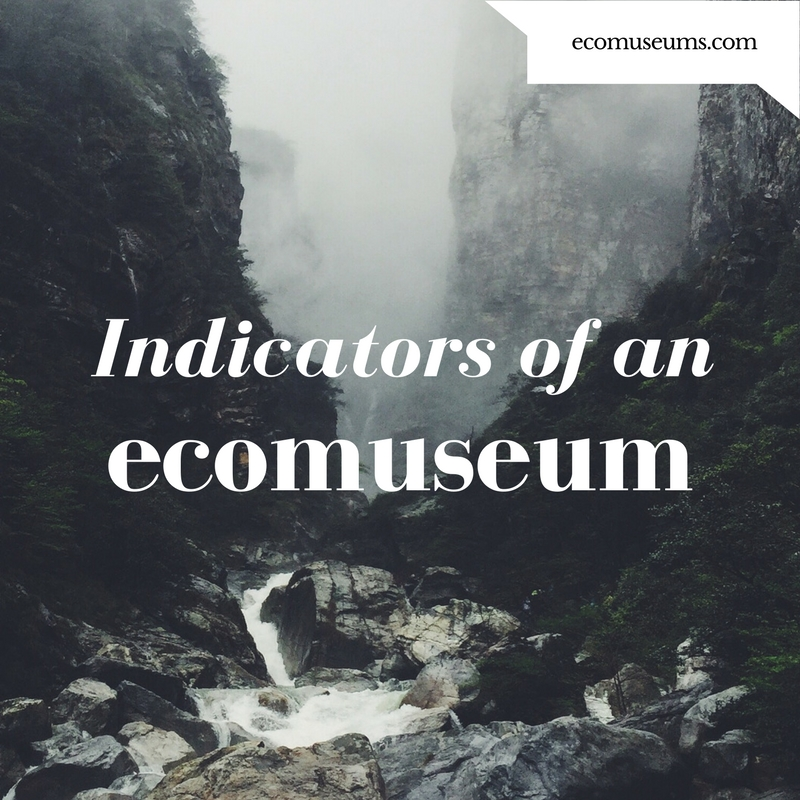 ecomuseum indicators