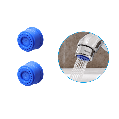 Shower Flow Tap Aerators 1.75LPM - (Pack of 2)