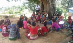 public hearing at Kuwapani DWS, Dhawa