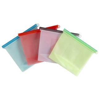 Bolsa de silicón reutilizable