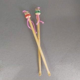 Cotonete de bambú reutilizable