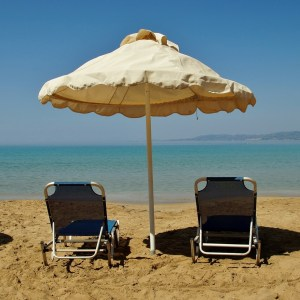weekly roundup and sand and beach umbrella