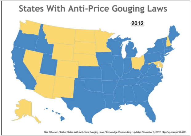 price gouging laws
