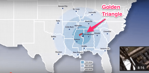 revitalized manufacturing Mississippi GoldenTriangle