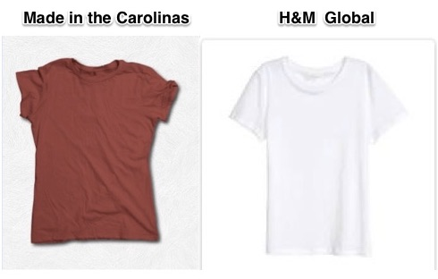 t-shirt supply chains