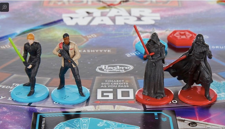 Weekly economic news roundup and Hollywood gender gap Star Wars Monopoly game