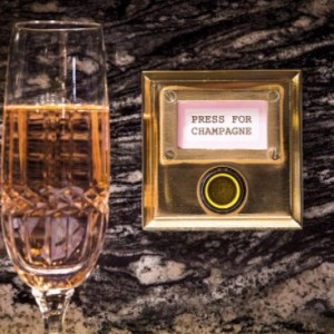 Weekly economic news roundup and Bob Bob Ricard champagne button