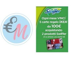 con swiffer vinci card ikea