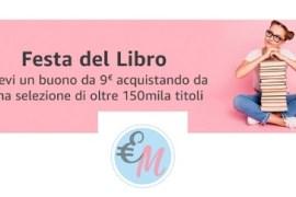 amazon libri buono sconto 9 euro