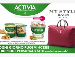 concorso activia my style bags