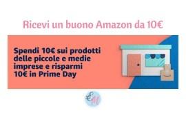 promozione amazon ricevi 10€ da spendere per il prime day