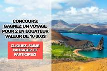 Contest Enter Win Trip 2 Ecuador Worth 10 000
