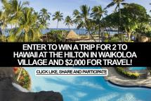Sweepstakes Enter Win Trip 2 Hawaii