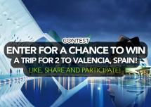 Enter Chance Win Trip 2 Valencia Spain