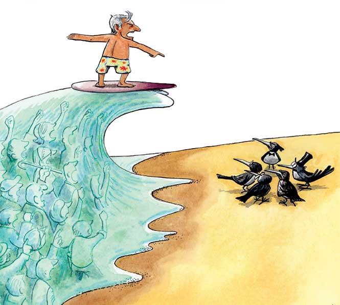 Resultado de imagen para amlo tsunami