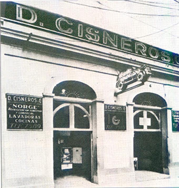 De Municipal a Mercaderes se ubicó el primer centro de operaciones de Diego y Antonio Cisneros, en 1940