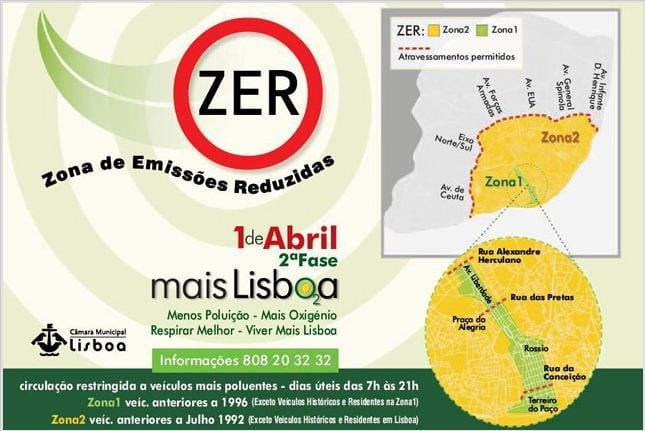 zonas de lisboa interditas a carros antigos mapa Em que zonas é/será proibido circular carros antigos em Lisboa  zonas de lisboa interditas a carros antigos mapa