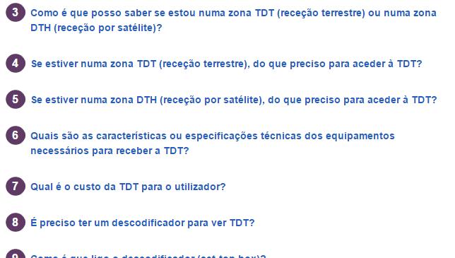 Novos canais na TDT e Dúvidas sobre a TDT