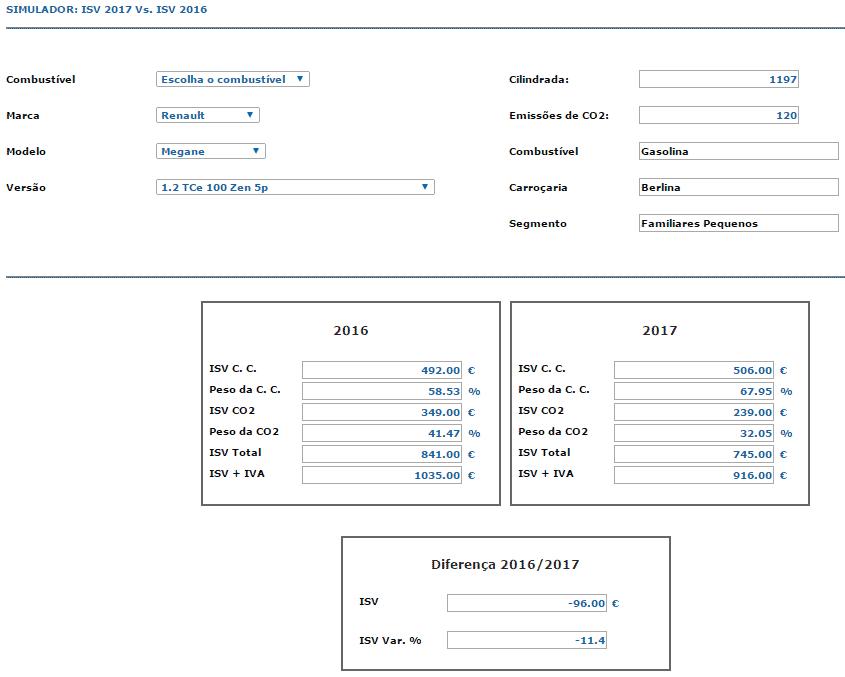 Simulador ISV 2017