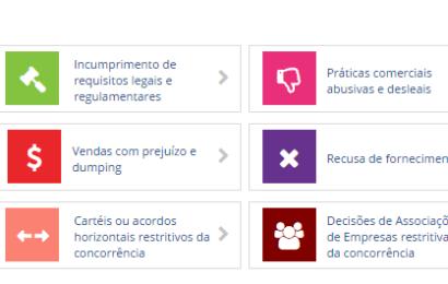 Portal de Denúncias da Autoridade da Concorrência