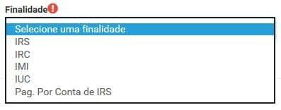 Impostos abrangidos