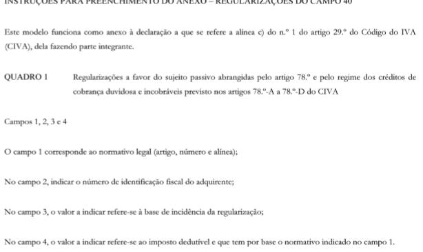 Alteração Declaração Periódica IVA 2018