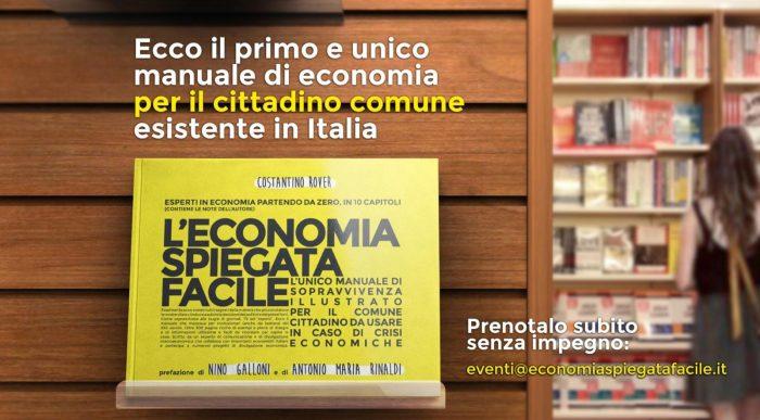 Esce il libro di Economia Spiegata Facile, prenotalo subito