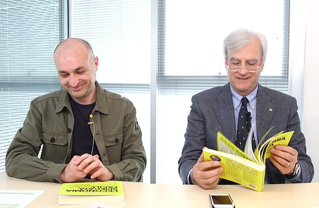 presentazione libro di economia spiegata facile con vaso di pandora con Antonio Maria Rinaldi e Costantino Rover - intervista