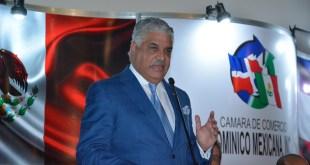 Canciller dominicano busca acuerdo económico parcial con México