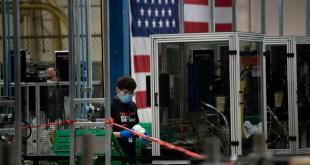 Economía de Estados Unidos cae un 9.5%