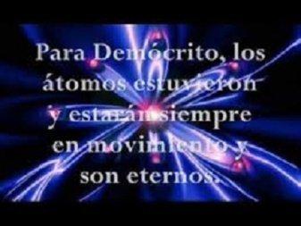 El atomismo de John Dalton