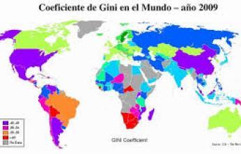 images Indices de GINI mundiales