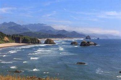 Resultado de imagen de paisaje costa de oregón