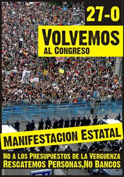 27 de octubre  Manifestación estatal