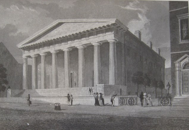 Second Bank of the U.S. engraving