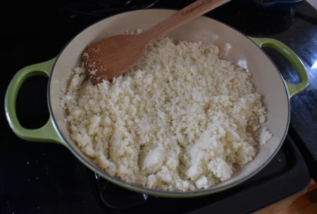 how to make and cook cauliflower rice