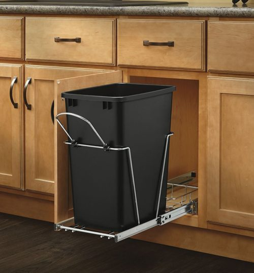 ... Kitchen Trash Cans In 2018. 12. Rev A Shelf Chrome Waste Container