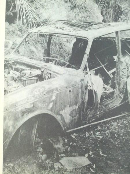 John Singleton's Rolls Royce firebombed
