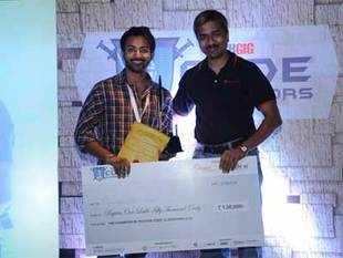 ManinderpalSingh, winner of theTechGigCode Gladiators 2014, updated his career status to the best coder in the country, he also won prize money ofRs. 1.5lakh.