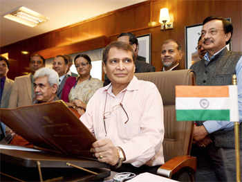 Railways to raise finances via SPVs, partnerships, says Suresh Prabhu
